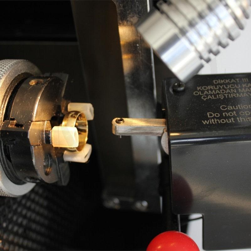 Entina Altın Gümüş Yüzük Yazı Yazma Makinesi