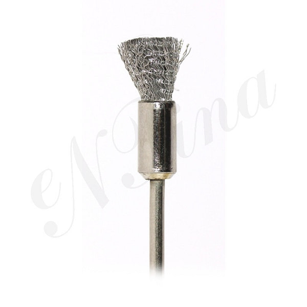 Mandren Dik Tel Fırça Çelik