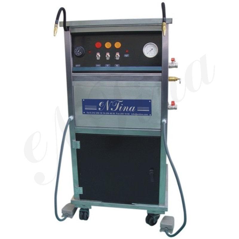 25 Litrelik Otomatik Su Almalı İstim Makinesi