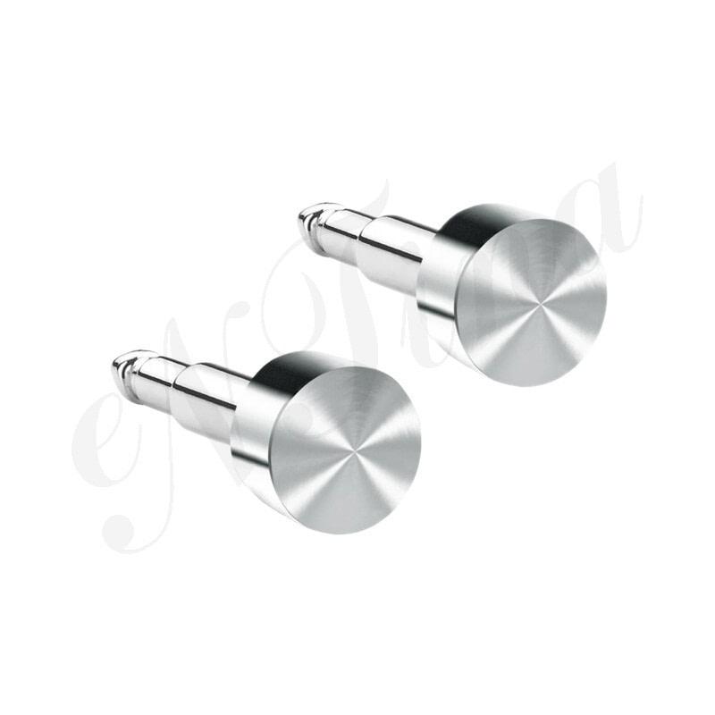 Nina Kulak Delme Küpesi Çelik - Düz Şekilli